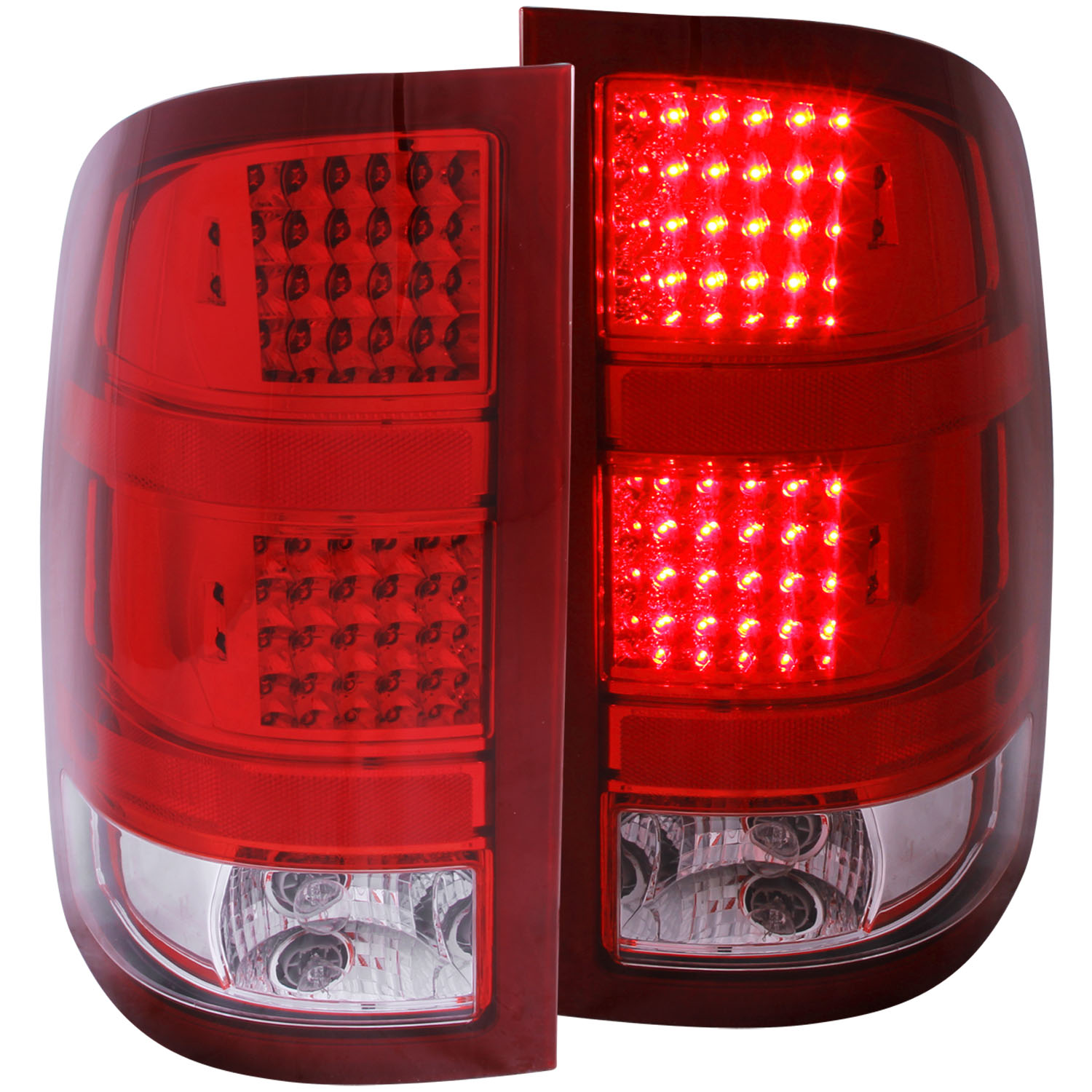 07-08 RED/CLEAR TAIL LIGHT