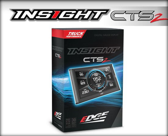 Edge Products 84130 Performance Gauge/ Monitor; Insight CTS2
