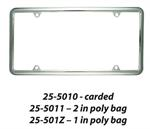 PLAIN LICENSE FRAME EACH