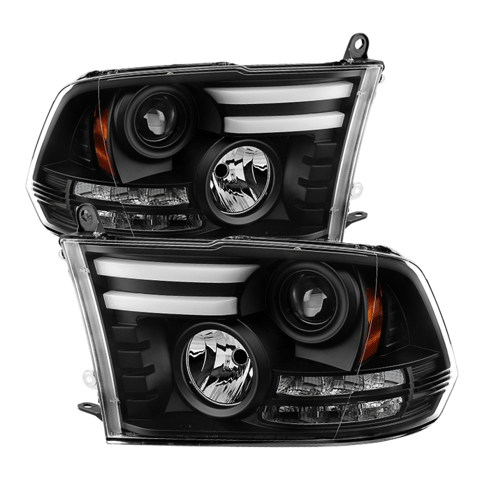 ( Spyder Signature ) Dodge Ram 1500 09-18 / Ram 2500/3500 10-19 Projector Headli